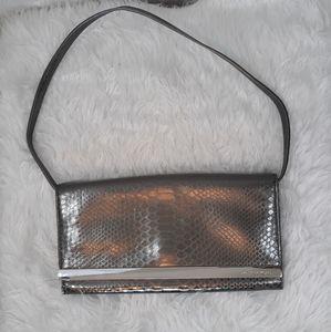 Michael kors vtg Italian leather evening bag purse
